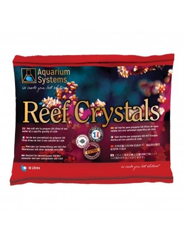 AQUARIUM SYSTEMS - Sel Reef Crystals - Sachet 360 gr