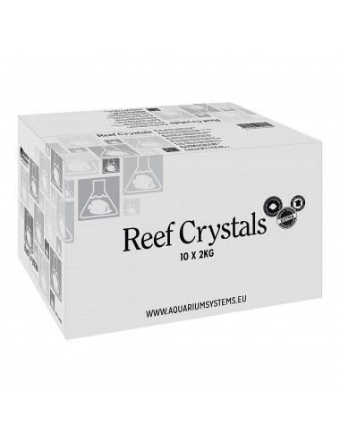 AQUARIUM SYSTEMS - Sel Reef Crystals - Sachets 10 x 2kg