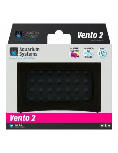 AQUARIUM SYSTEMS - Vento 2 - 140 l/h - Pompe à air pour aquarium