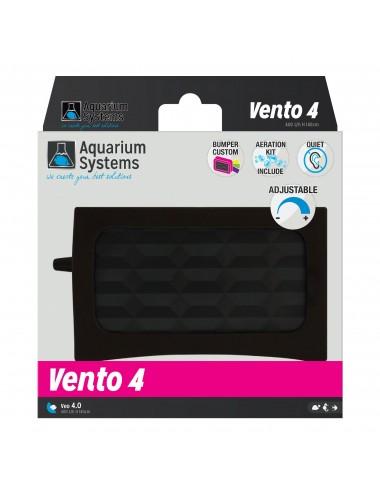 AQUARIUM SYSTEMS - Vento 4 - 2x 200 l/h - Pompe à air pour aquarium