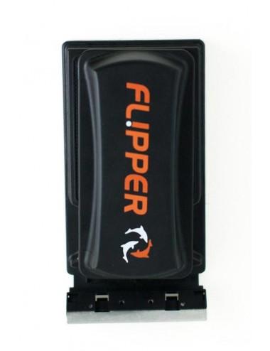 FLIPPER - Flipper Standard - Nettoyeur magnétique 2 en 1 pour aquarium