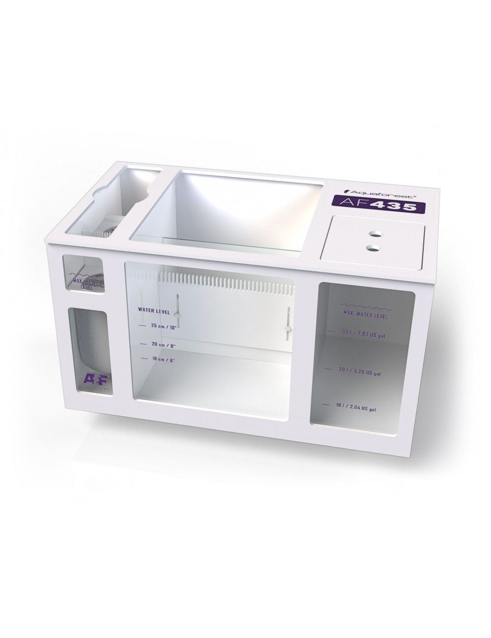 AQUAFOREST - AF Sump 435 - Décantation pour Aquarium