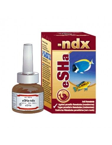 ESHA - Ndx - 180 ml - Traitement pour des vers intestinaux chez le poisson