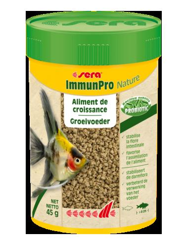 SERA - ImmunPro Nature - 45 g - Aliment de croissance pour poissons d'ornement de plus de 4cm
