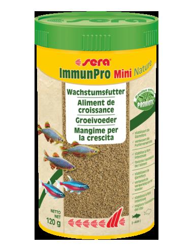 SERA - ImmunPro Mini Nature - 120g - Aliment de croissance pour poissons d'ornement jusqu'à 4cm