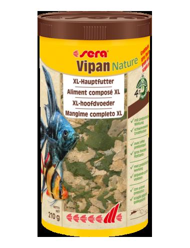 SERA - Vipan Nature Gros Flocon - Aliment pour poissons d'ornements