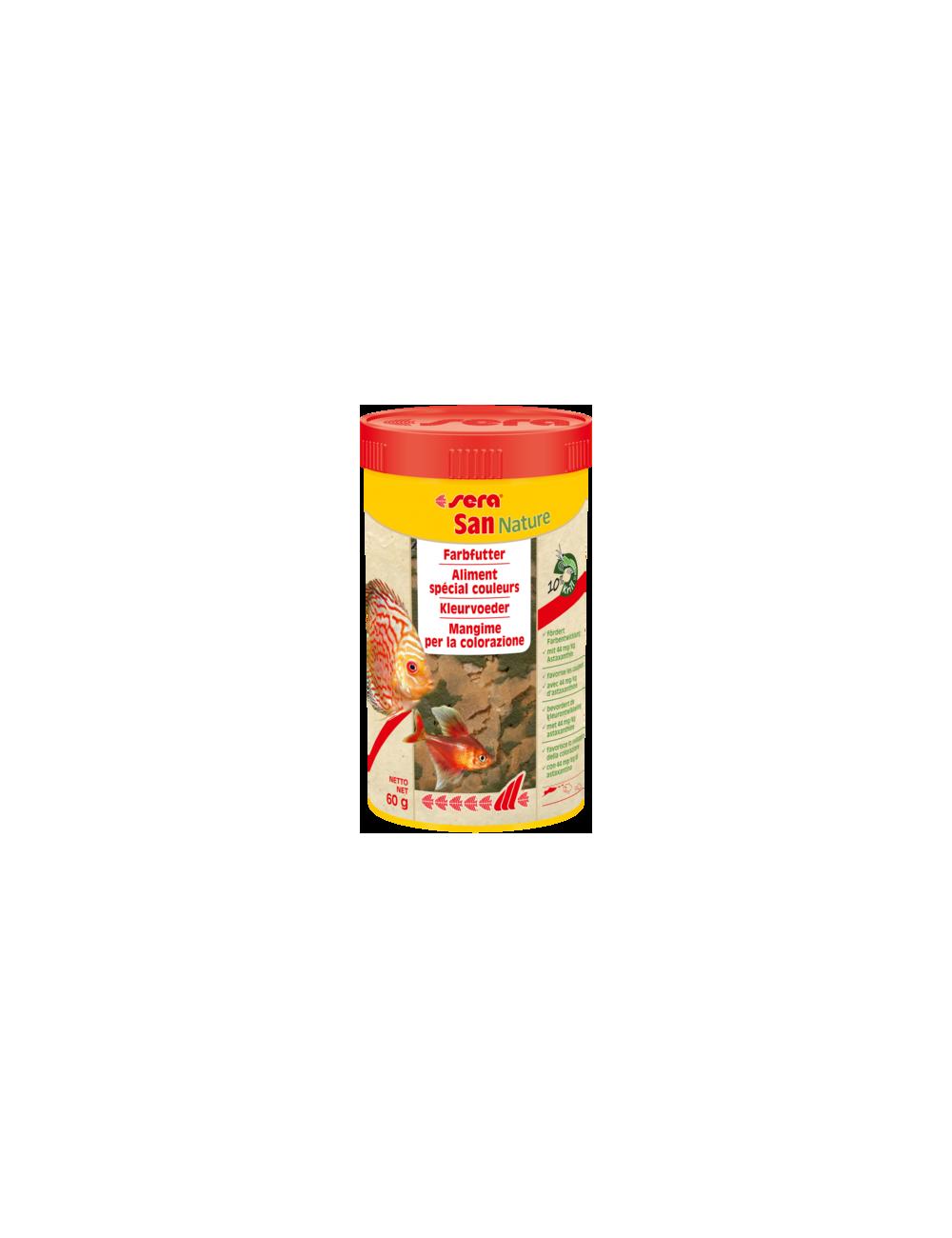 SERA - Plankton Tabs Nature - 65g - Aliment spécial couleurs pour poissons d'ornements