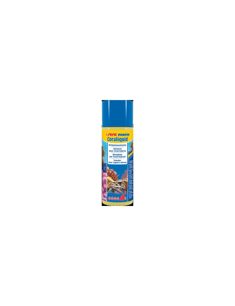 SERA - Marin Coraliquid - 100ml - Aliment liquide pour invertébrés