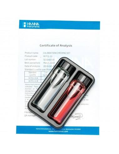 Hanna Instruments - Solutions étalons nitrates pour Checker HI781-11