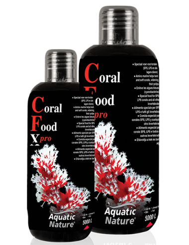 AQUATIC NATURE - Coral Food X-Pro - 300 ml - Nourriture pour coraux