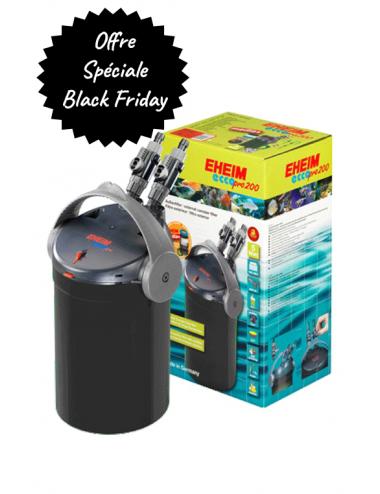 EHEIM - Ecco Pro 200 - Black Edition - Masses filtrantes offertes