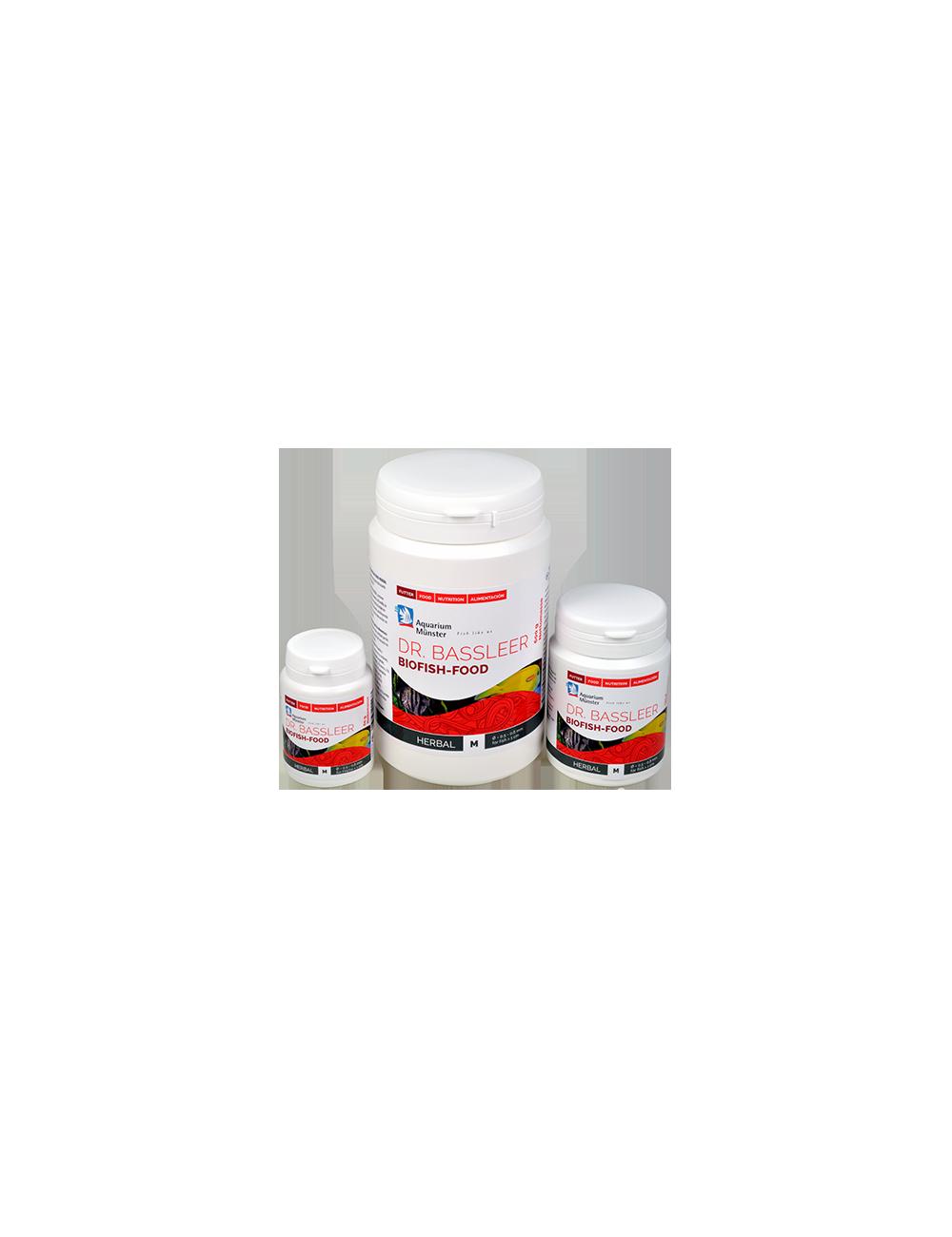 DR. BASSLEER - Biofish food herbal 60g - Nourriture naturelle pour poissons - M