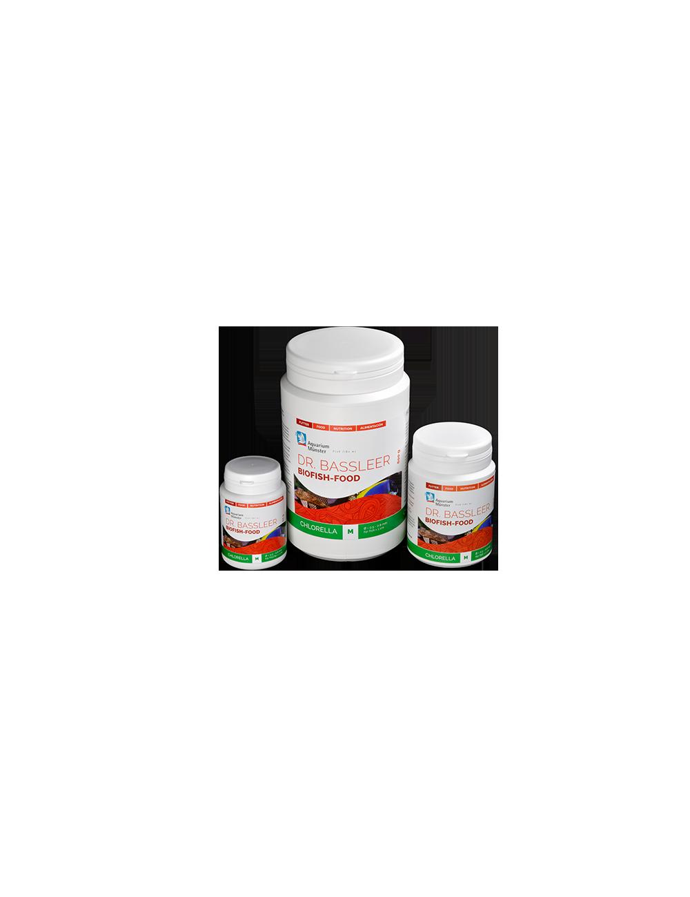 Dr. Bassleer BIOFISH FOOD Chlorella - 170gr - nourriture pour poissons - XL