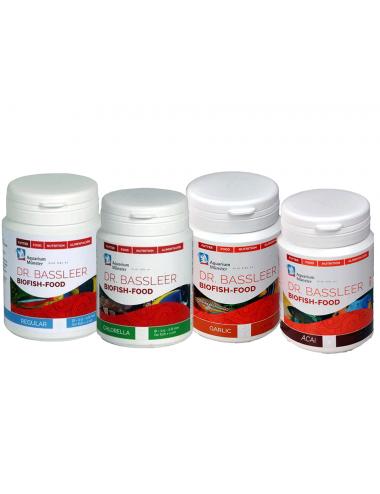 Dr. Bassleer BIOFISH Foodbox - L - 60g - Box nourriture pour poissons
