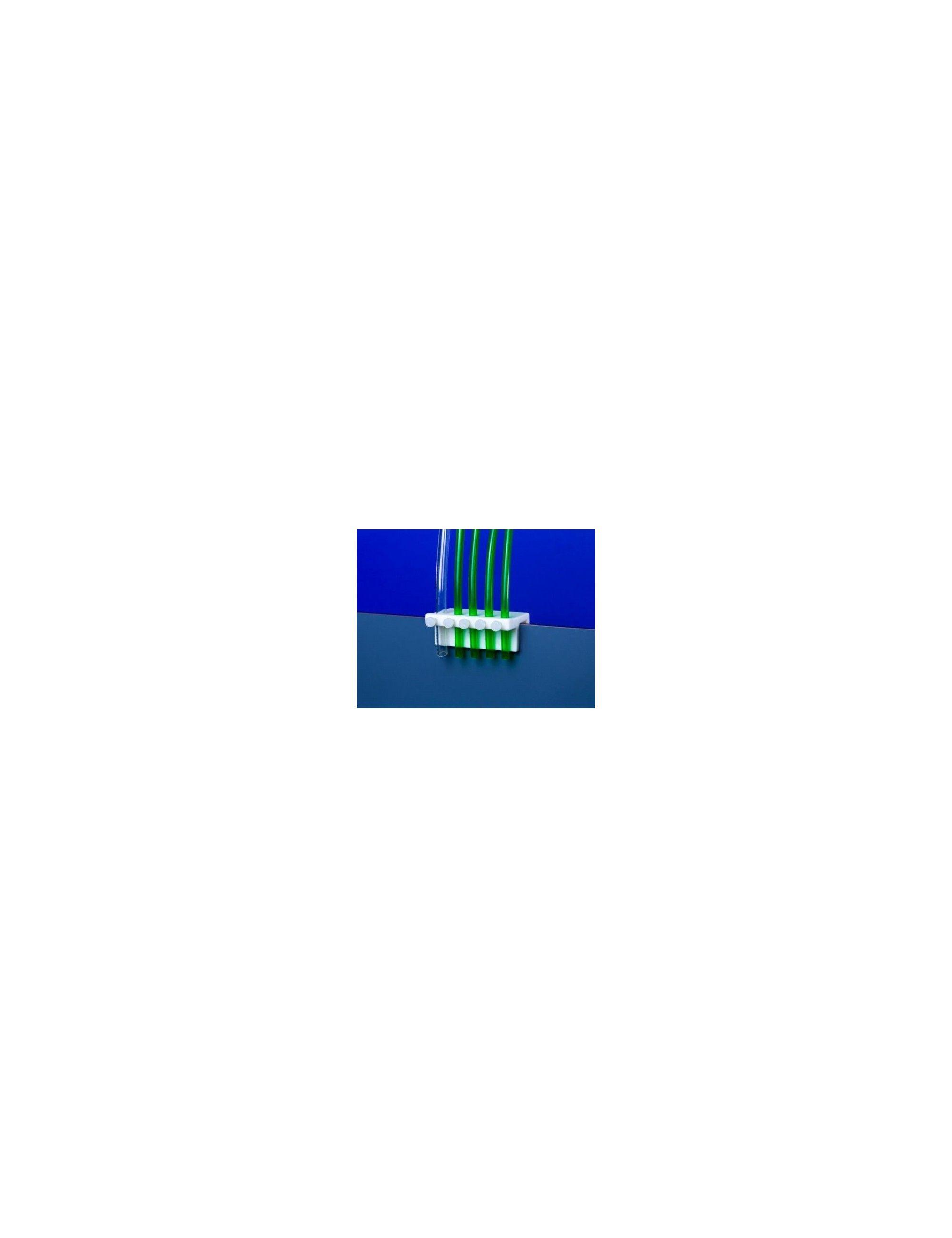 AQUACONNECT - Support de fixation pour 5 tuyaux de pompes doseuses