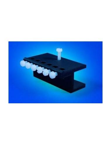 AQUACONNECT - Support de fixation pour 6 tuyaux de pompes doseuses