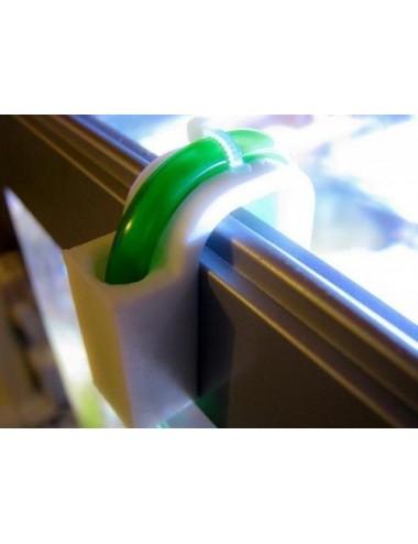 AQUACONNECT - Coude de fixation pour les tuyaux jusqu'à max. 9 mm de diamètre.
