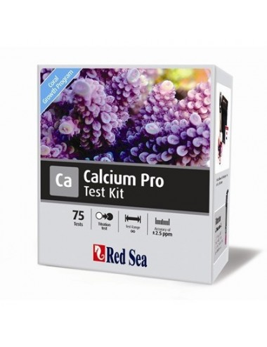 Red Sea - Test Calcium Pro - 75 tests