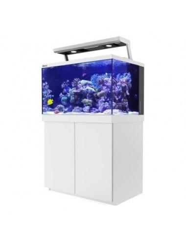 RED SEA - Aquarium Max® S-400 + 2x ReefLED - Meuble blanc - 400 litres