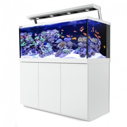 RED SEA - Aquarium Max® S-650 + 4x ReefLED - Meuble blanc - 650 litres
