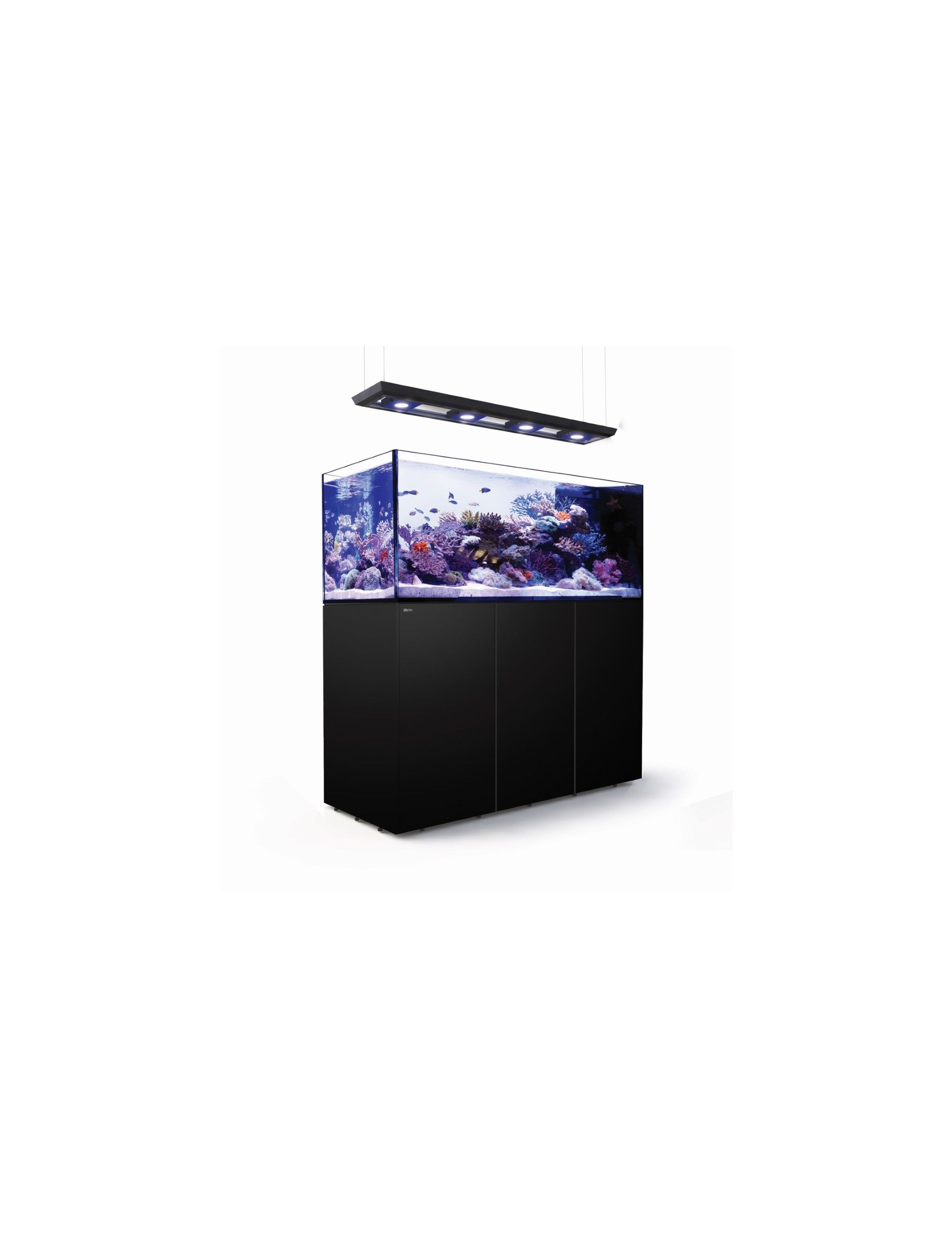 RED SEA - Reefer Peninsula Deluxe - P650 - Noir - (4 ReefLED, rampe suspendue)