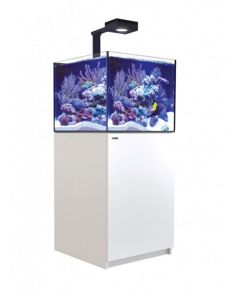 RED SEA - Reefer Deluxe XL 200 - Meuble Blanc + 1 ReefLed 90