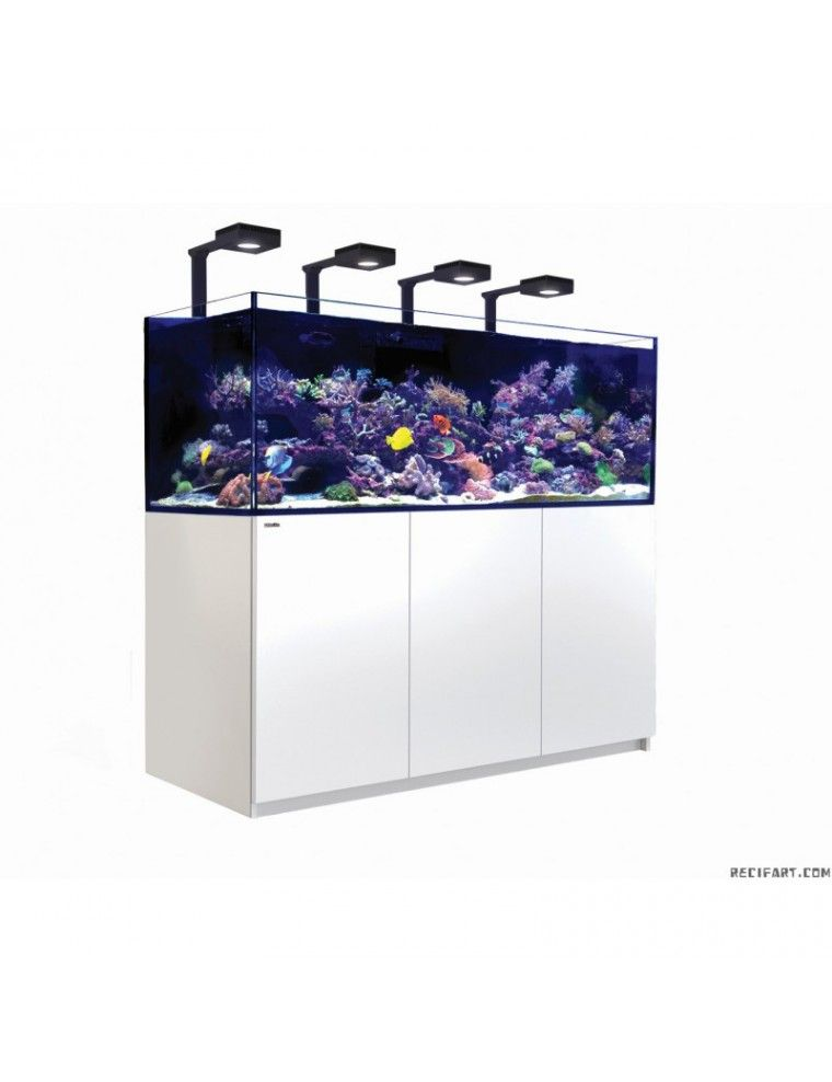 RED SEA - Reefer Deluxe XXL 750 - Blanc - (4 ReefLED 90 et 4 potences)
