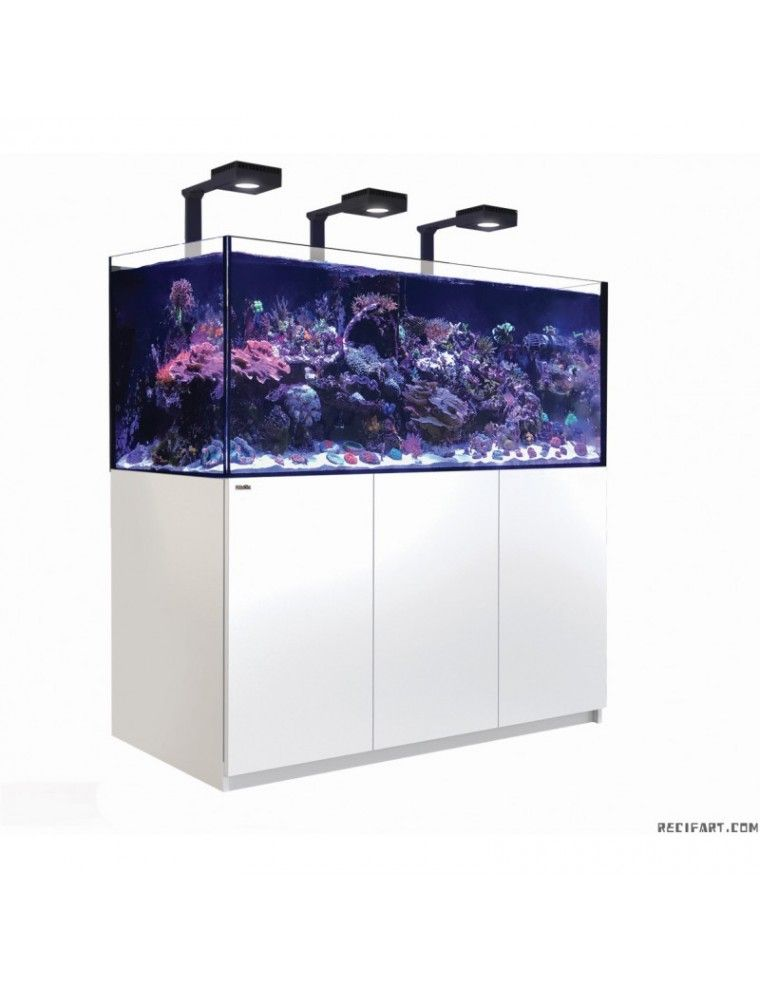 RED SEA - Reefer Deluxe XXL 750 - Blanc - (3 ReefLED 160S et 3 potences)