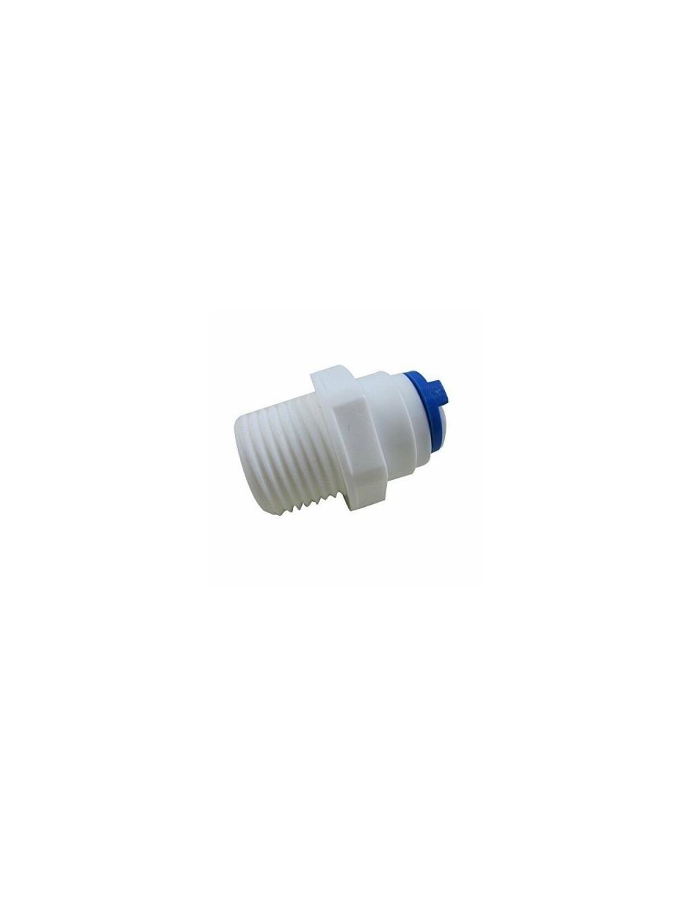 AQUAPERFEKT- Raccord droit 1/4 de pouce - Pour cartouche d'osmoseur