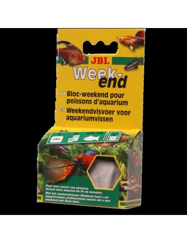 JBL - Bloc week-end - Aliment complet de week-end pour poissons d'aquarium