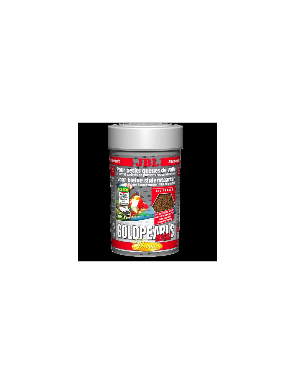 JBL - GoldPearls mini - 100 ml - Aliment complet Premium en granulés pour petits Voiles de Chine
