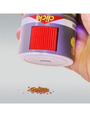 JBL - GoldPearls CLICK - 250 ml - Aliment de base Premium en granulés pour Voiles de Chine, avec doseur à clics