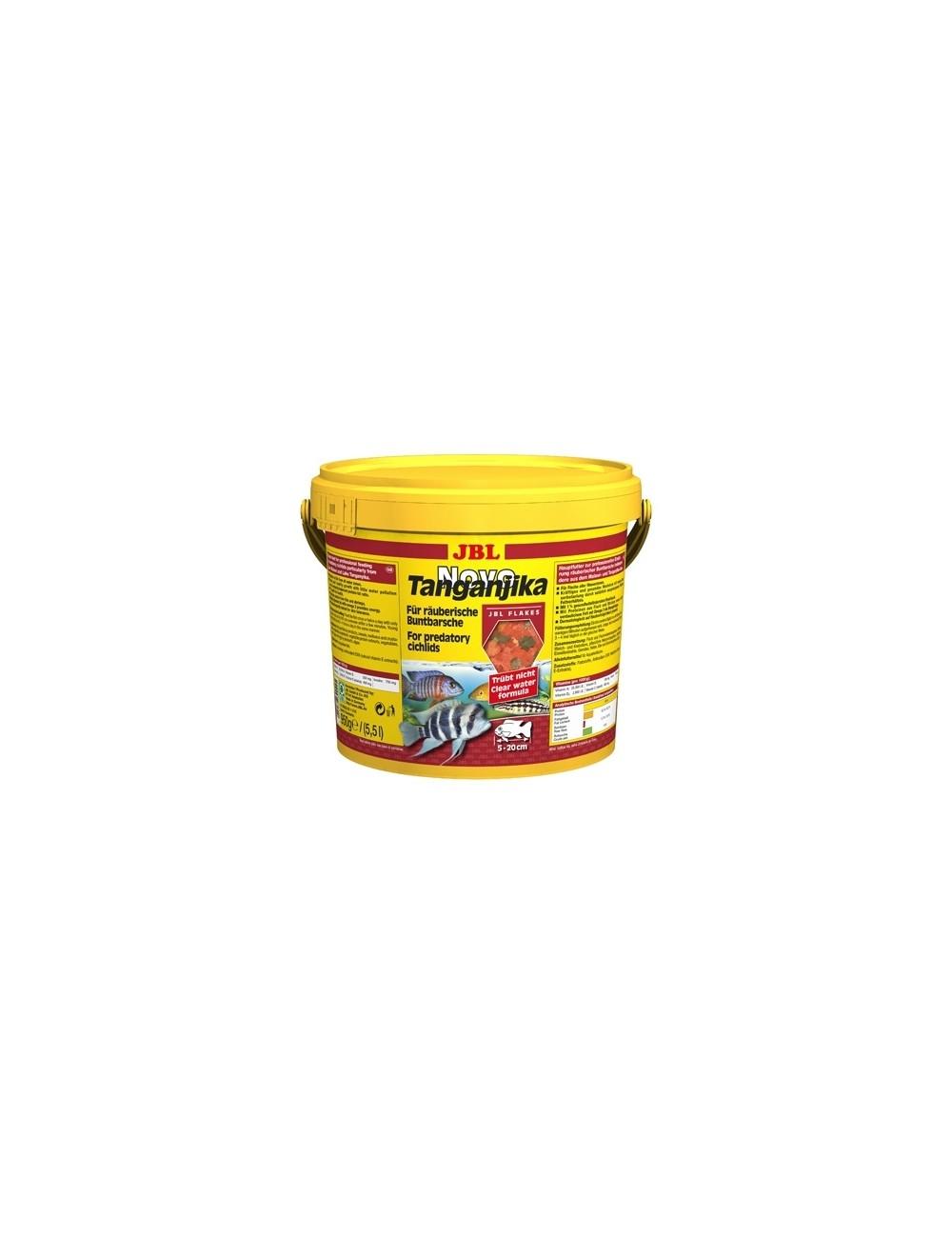JBL - NovoTanganjika - 5.5 L - Nourriture pour Cichlidés prédateurs