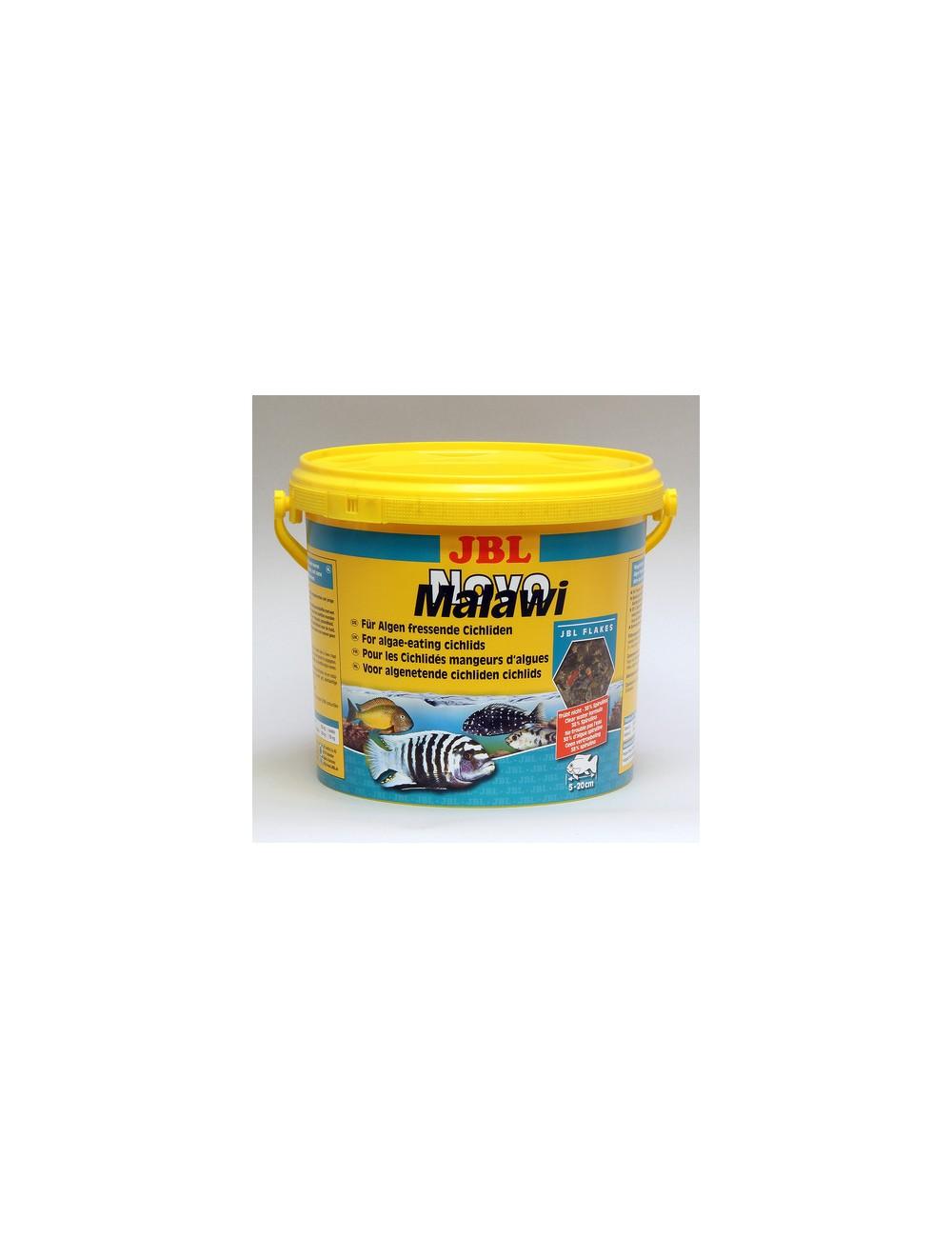 JBL - NovoMalawi - 5.5 l - Aliment de base en flocons pour Cichlidés algivores