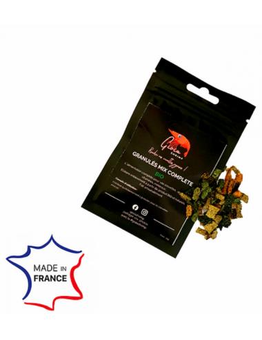 Gioia Shrimp - Granulés MIX Complete Bio - Aliment naturel pour crevettes
