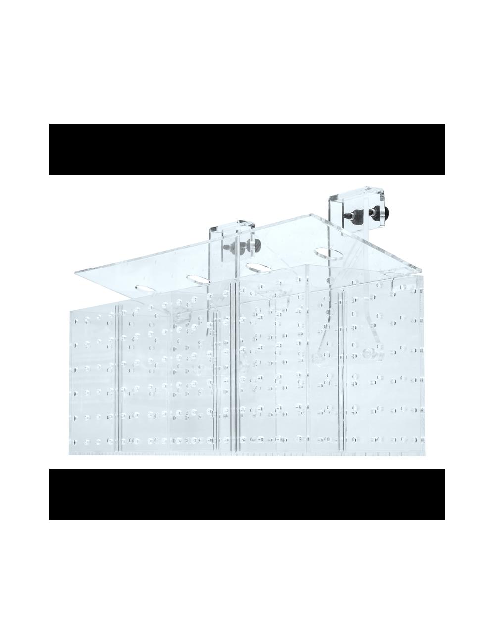 GROTECH - Akklimatisierungsbox - Boîte d'acclimatation - 5 chambres - Pour l'accrochage dans les aquariums