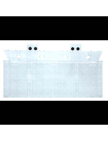 GROTECH - Akklimatisierungsbox - Boîte d'acclimatation - 4 chambres - Pour l'accrochage dans les aquariums