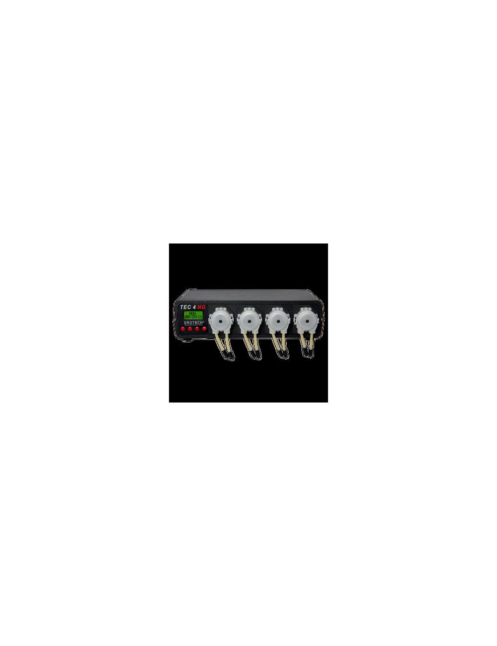 GROTECH - TEC 4 NG - Pompe de dosage - 4 canaux contrôlée par microprocesseur