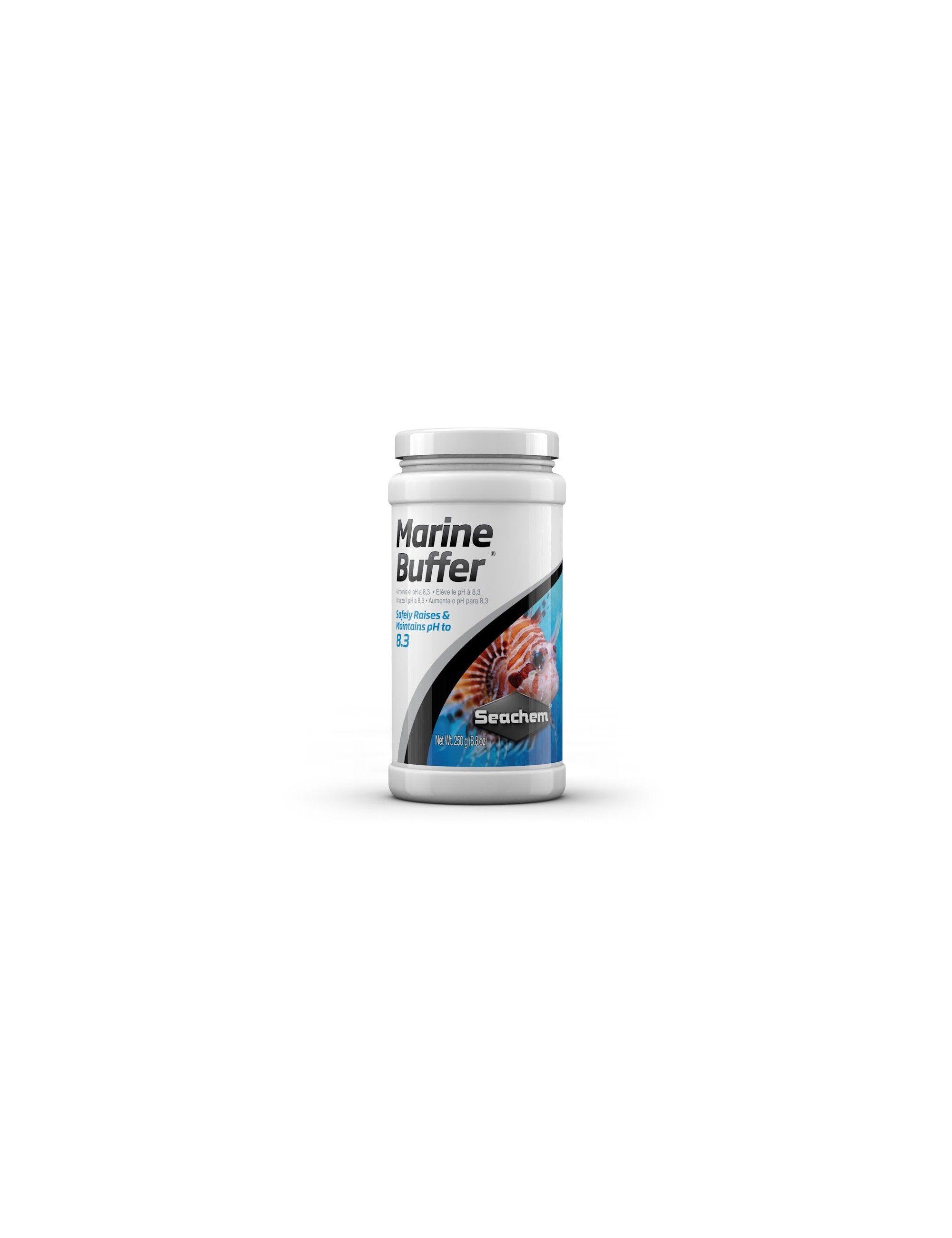 SEACHEM - Marine Buffer - 250 g - Élève le pH à 8,3