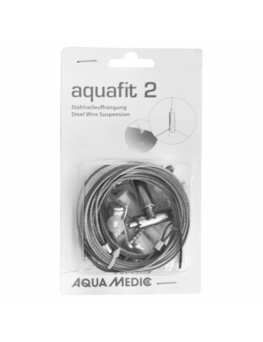 AQUA MEDIC - Aquafit 2 - Câble de suspension en acier universelle
