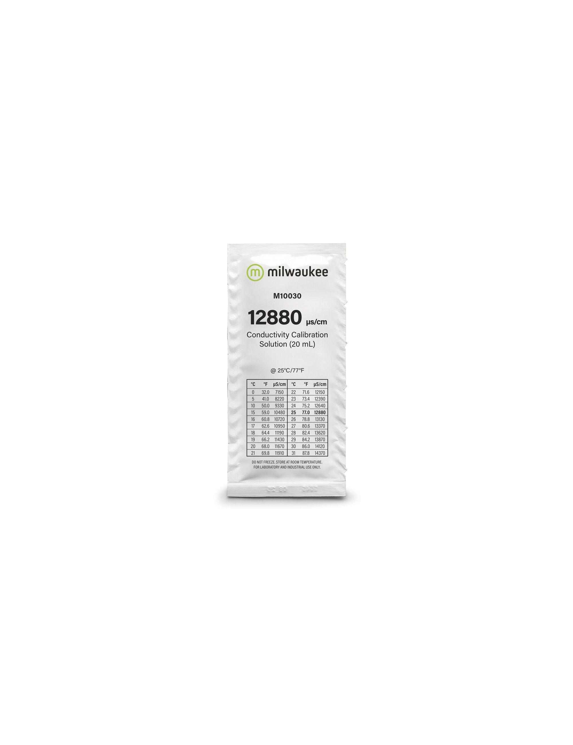 MILWAUKEE - Solution de calibrage 12880 µS/cm - 20ml