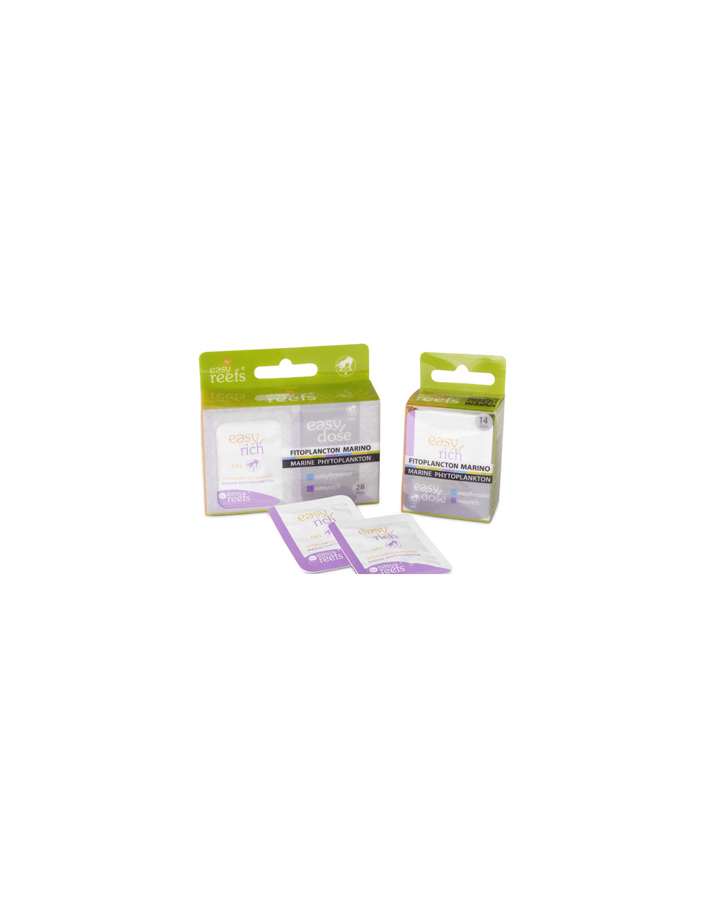 Easy Reefs - EasyRich 14- Phytoplancton en gel - 14 mono-doses