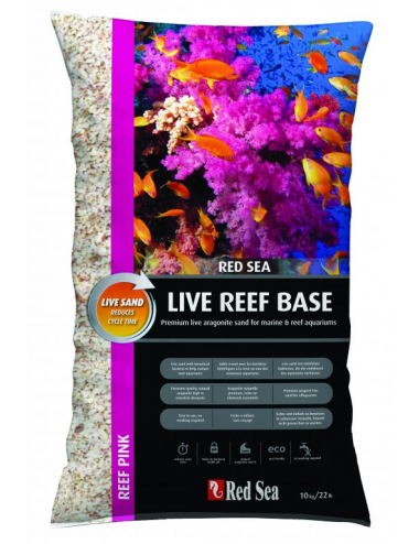 RED SEA - Live Reef Base - Ocean White - Sable vivant - 10 kilos