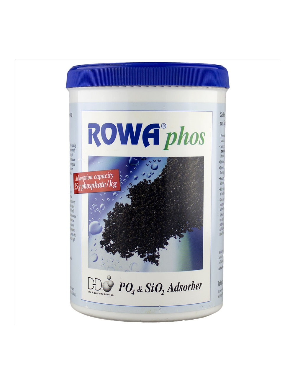 D&D H2Ocean - ROWAPhos 1000ml - Anti phosphate eau douce et eau de mer