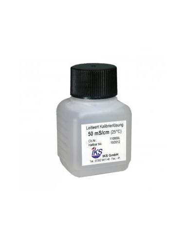 IKS - Solution de calibrage conductimètre LF 50 mS - 30ml