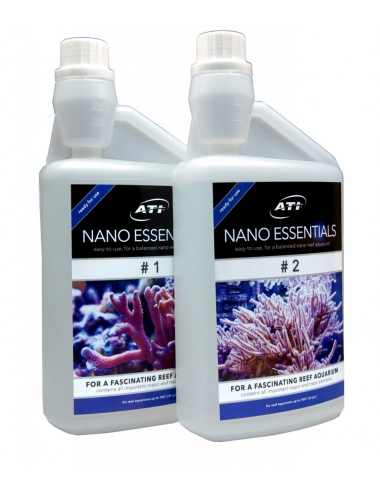 ATI - Nano Essentials - Calcium, Kh et oligo-éléments pour aquarium nano - 2x1000ml