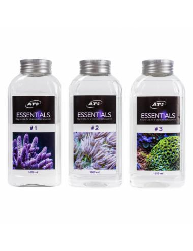 ATI - Essentials - Calcium, Kh, magnésium et oligo-éléments pour aquarium - 3x1000ml