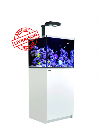 RED SEA - Aquarium Max® E-170 + LED AI Hydra 26™ HD - Meuble blanc  + Décantation - 170 litres