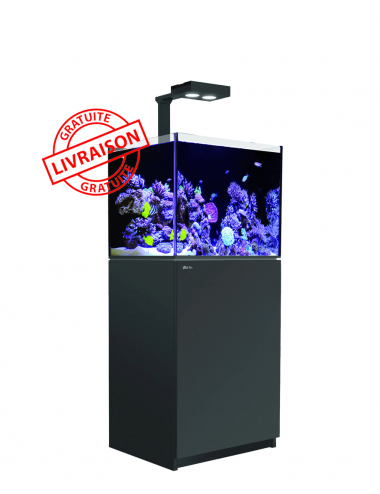 RED SEA - Aquarium Max® E-170 + LED AI Hydra 26™ HD - Meuble Noir + Décantation - 170 litres