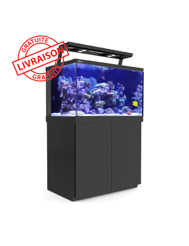 RED SEA - Aquarium Max® S-400 + LED 2x AI Hydra 26™ HD - Meuble noir - 400 litres